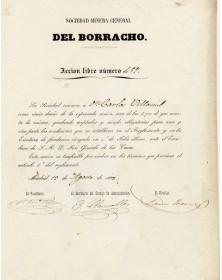 Del Borracho - Sociedad Minera General