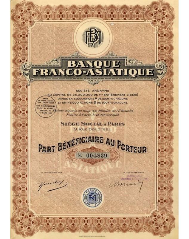 Banque Franco-Asiatique