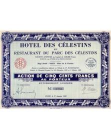 Hotel des Célestins et Restaurant du Parc des Célestins