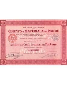Ciments & Matériaux du Poitou
