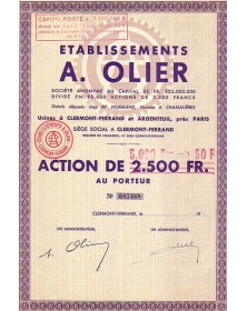 Ets A. Olier