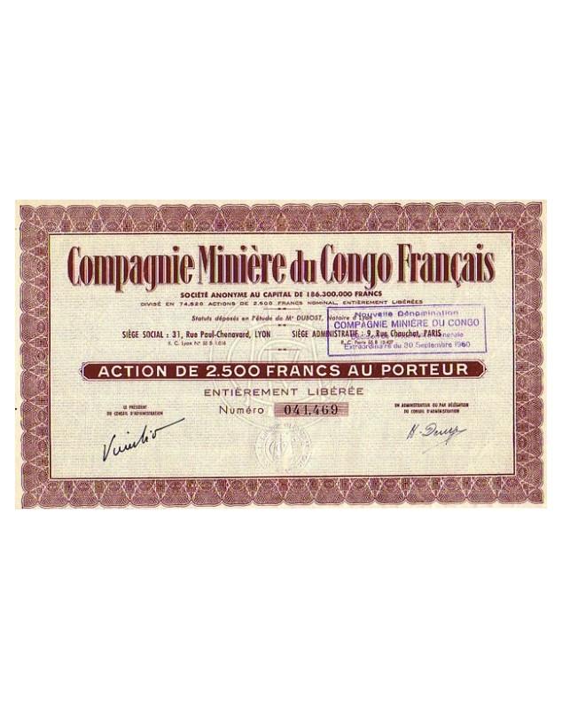 Compagnie Minière du Congo Français