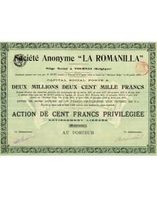 """S.A. -La Romanilla-"""""""""""