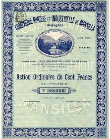 Cie Minière et Industrielle de Mansilla