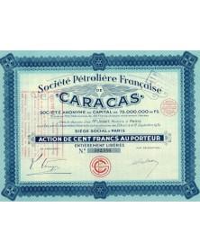 Sté Pétrolière Française de Caracas