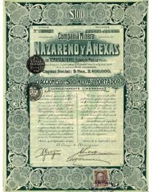 Compañia Minera Nazareno y Anexas