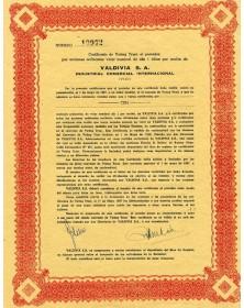 Valdivia S.A. Industrial Comercial Internacional (VICI)