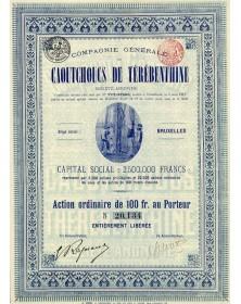 Cie Générale des Caoutchoucs De Térébenthine